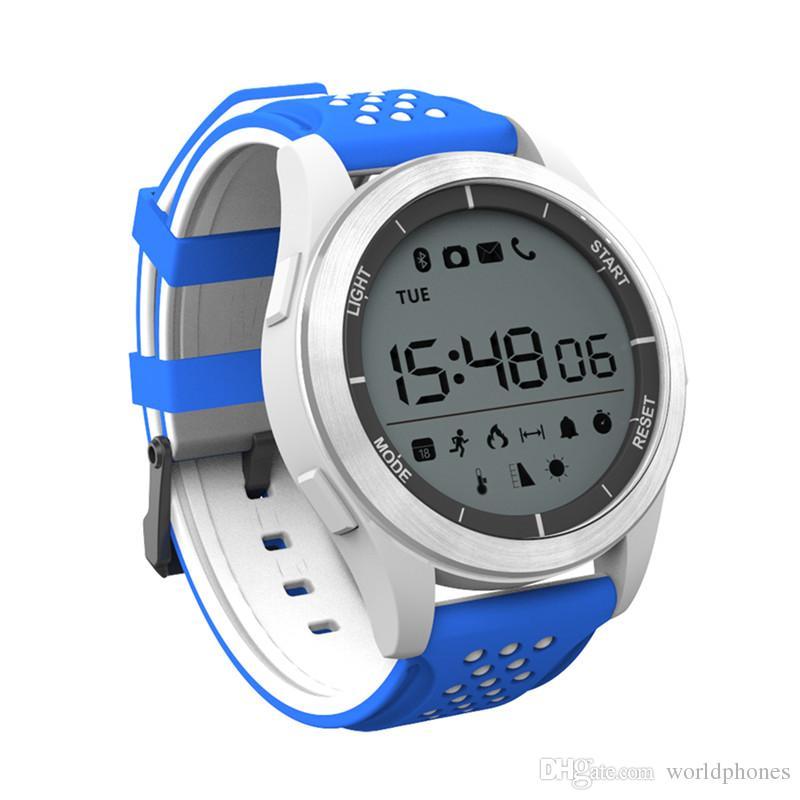 Originale DT NO.1 F3 Luminoso intelligente orologio altimetro metro barometro chilometraggio IP68 pedometro impermeabile Smartwatch IOS Android