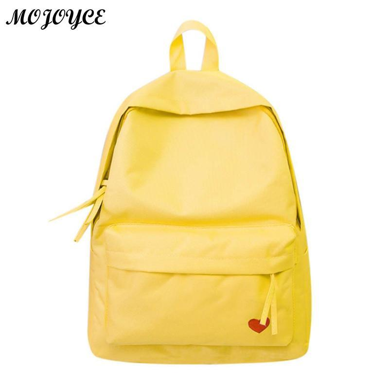 Love Heart Printed Mini Backpack For Teenager Girls Cute Small Designer  School Bag Rucksack Feminina Nylon Shoulder Bags Waterproof Backpack Kids  Backpacks ... 62b081db3675b