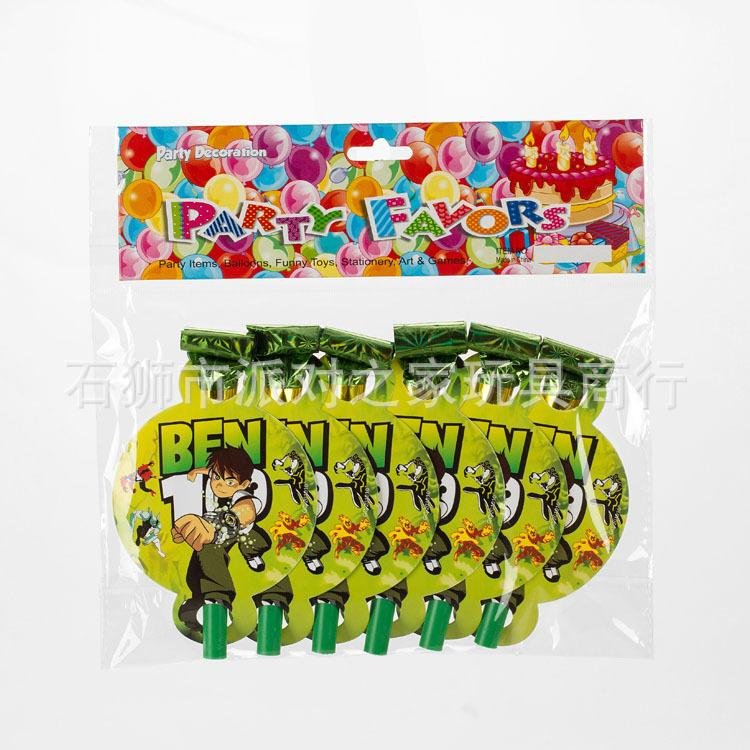 Party Supplies Ben 10 Party Kids Baby Birthday Decoration Disposable