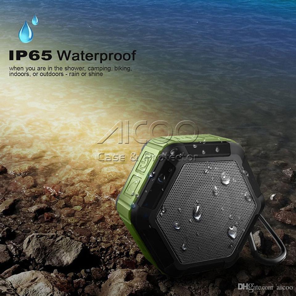 Mini Bluetooth Haut-Parleur Mini Sans Fil Extérieur Sports Étanche Subwoofer Haut-Parleur Portable Pour Smartphone Avec Micro Support TF Retailbox