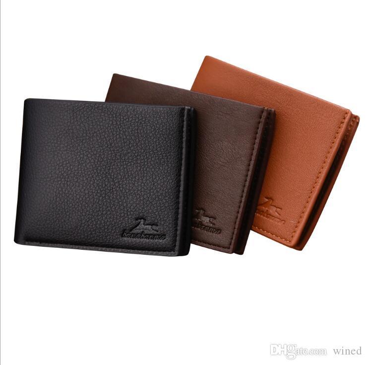 HERREN: MARKEN GELDBÖRSE Brieftasche schwarz kariert EUR