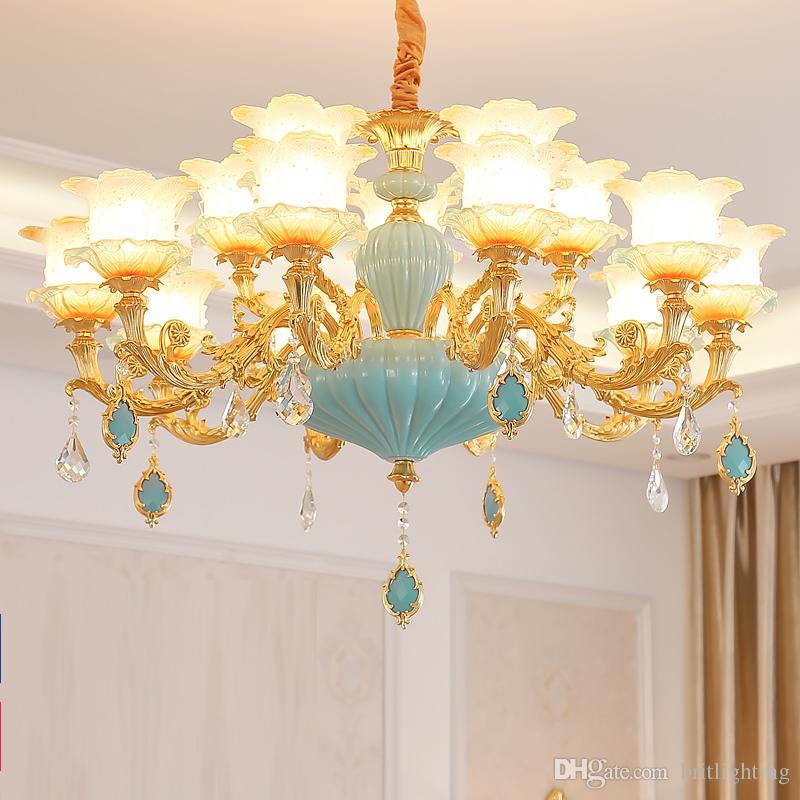 Wohnzimmer Lampe Glas Kronleuchter Kristall Kronleuchter Lampe Vintage  Kronleuchter Beleuchtung moderne Glühbirne Kronleuchter großen ...