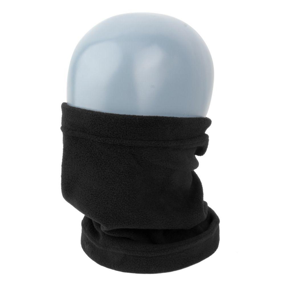 Unisex Men Women Winter Thicken Warm Cotton Skiing Cycling Scarf Neck Warmer Face Mask Hat Snood Windproof Ski Headgear Bonnet Apparel Accessories
