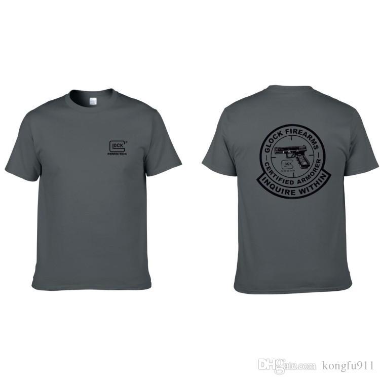 tactical men T-shirt Cotton T-shirt hunting classic LOGO Airsoft wargame team Shooting club custom WG