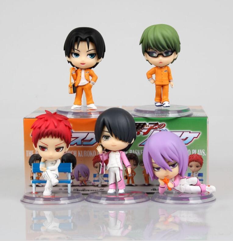 Großhandel 5 Teile / Satz Kuroko Basketball Anime Action Figuren Pvc ...
