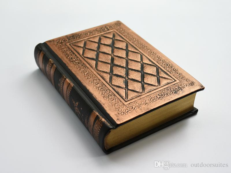 Классический Античный Толстые Библия Дневник Книга Старинные Журнал Этюдник Ретро Подарок Ноутбук Бумага Пустые Страницы Кожаный Чехол