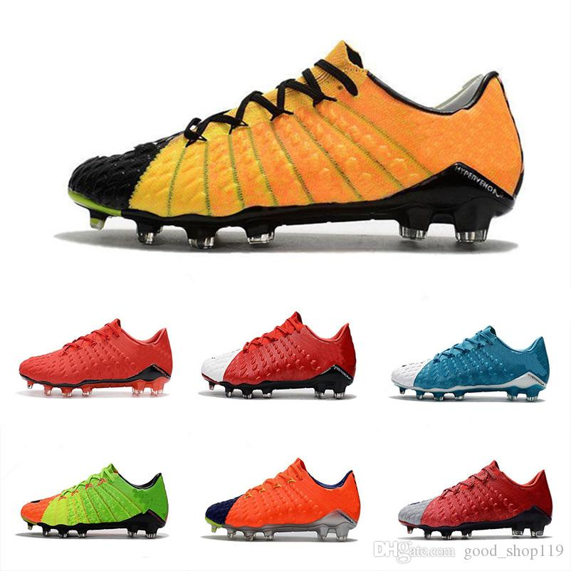 971769f6349 2018 Classic Popular Hypervenom Phantom III DF FG 3D Outdoor Soccer ...