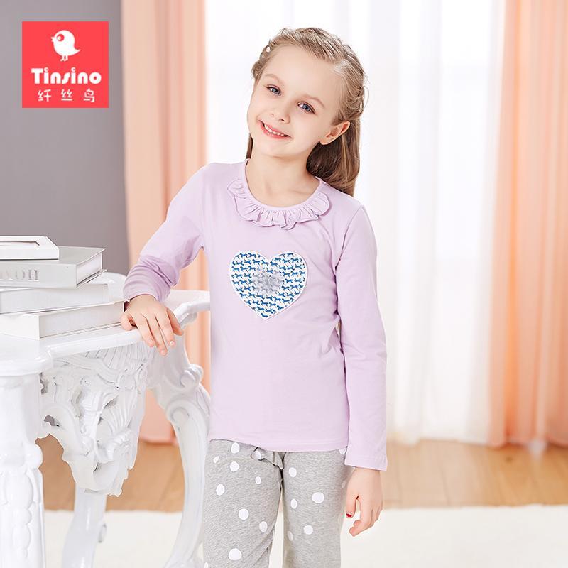b796d45b64c9 Tinsino Girls Autumn Pajama Sets Ruffled Collar Pajamas Kids Girls Spring Sleepwear  Children Girl Winter Long Johns Toddler Boy Christmas Pajamas Big Boys ...