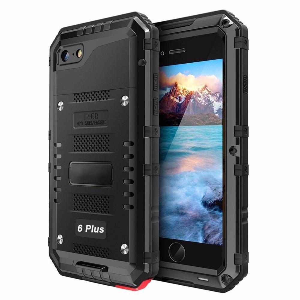 8690bd586d2 Compre Para A Apple Iphone 6 S Case Ip68 À Prova D 'água Capa De Mergulho À  Prova De Choque Para Iphone 6 Plus 6 S Plus Selado À Prova D' Água ...