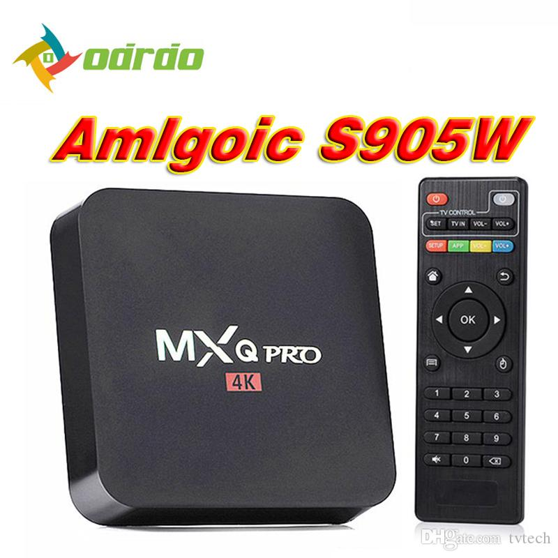 Android Tv Box 4k 2018 Meistverkaufte Android 71 S905w Mxq Pro 4k
