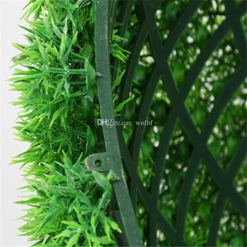Una Dimensione 10 cm / 15 cm / 20 cm / 25 cm Verde Erba Palla Artificiale Erba Palla Verde Pianta di Plastica Palle Casa la Decorazione Forniture di Nozze