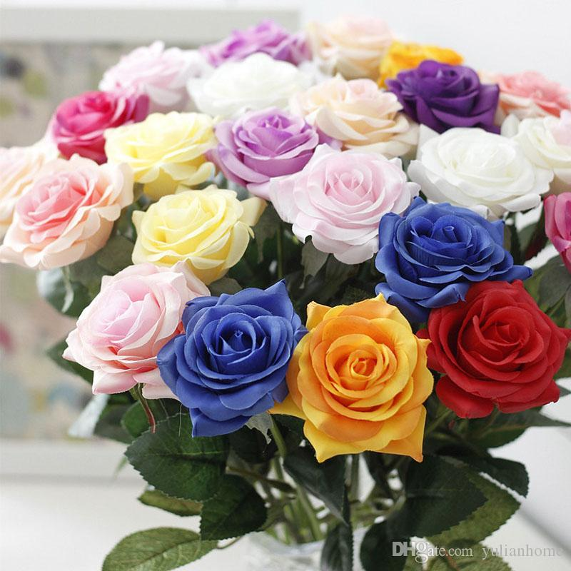 New Artificial Flowers Rose Peony Flower Home Decoration Wedding ...