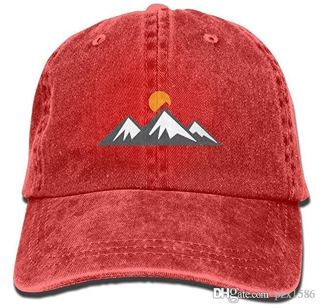 Pzx  Men Women Classic Denim Mountain Rise Adjustable Baseball Cap Dad Hat  Low Profile Perfect For Outdoor Leather Hats The Game Hats From Pzx1586 40d5648d8d6
