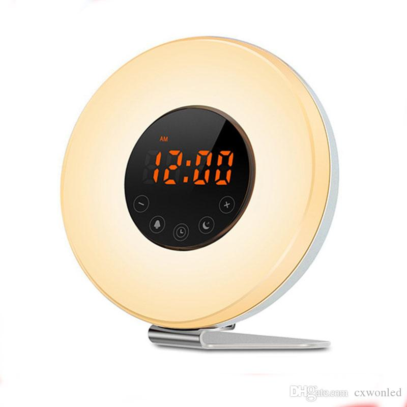 Sunrise Alarm Clock Wake Up Light Digital Clock