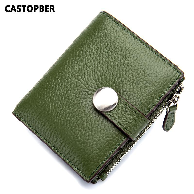 Fashionable Short Wallet Women Genuine Leather Top Layer Cow Leather Mini Coin  Purse Ladies Wallets Small Holder Designer Famous Kids Wallet Branded  Wallets ... 34dc59e3995e4