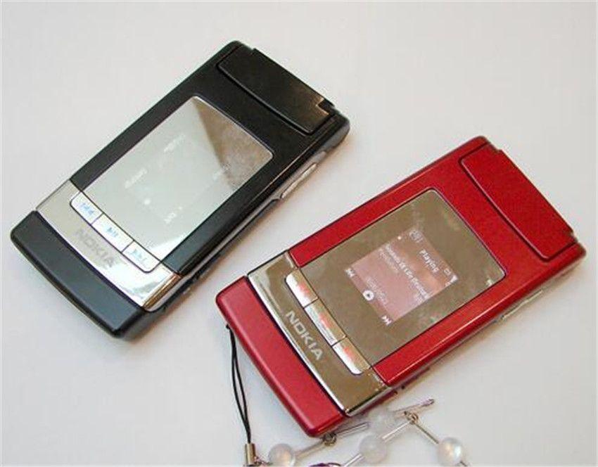 Refurbished Original Nokia N76 Flip Fold Unlocked Phone Symbian 2.4 inch Screen 2MP Camera MP3 Bluetooth Cheap Phone Free Post