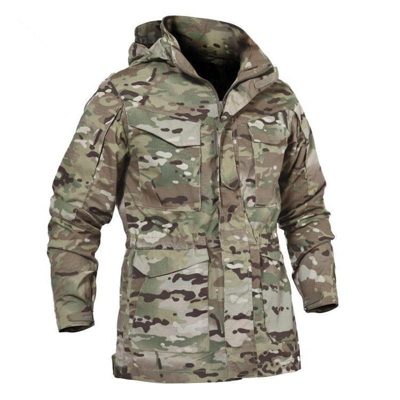 M65 Uk Us Army Tactical Jacket Casual Windbreaker Men Winter Autumn
