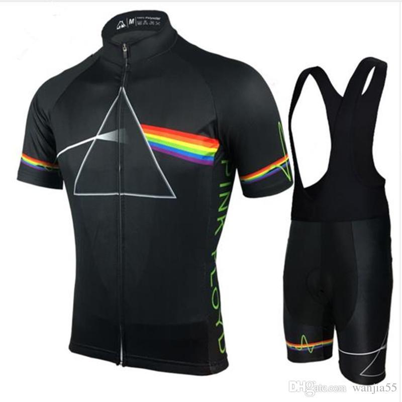 bf1412709 Satın Al 2018 Pink Floyd Bisiklet Setleri Erkekler MTB Gömlek Nefes Bisiklet  Giyim Kitleri Hızlı Kuru Spor Bisiklet Formaları XS 5XL Tops