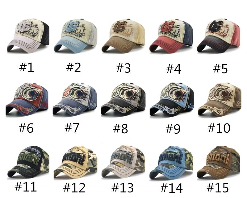 fe7b32268d3 Hot Brand Baseball Caps Fashion Sharks Camo Ball Hat High Quality Cotton Print  Trucker Hat Curved Sport Sun Hat Fashion Designer Leisure Cap Zephyr Hats  ...