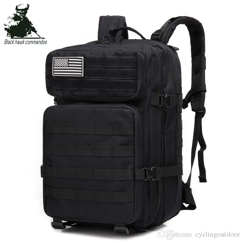 2019 Tactical Assault Pack Backpack Army Molle Waterproof Bug Out ... 7e085e11ceb9e