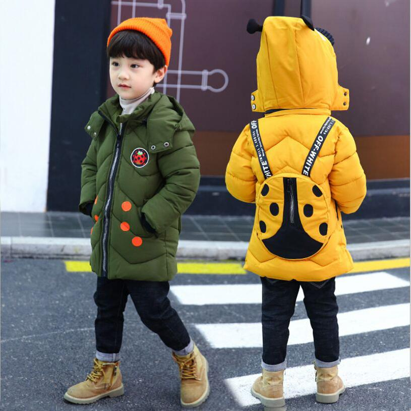 a6b50dbd8 Winter 2019 Fashion Children S Winter Jackets Baby Outerwear   Coats ...