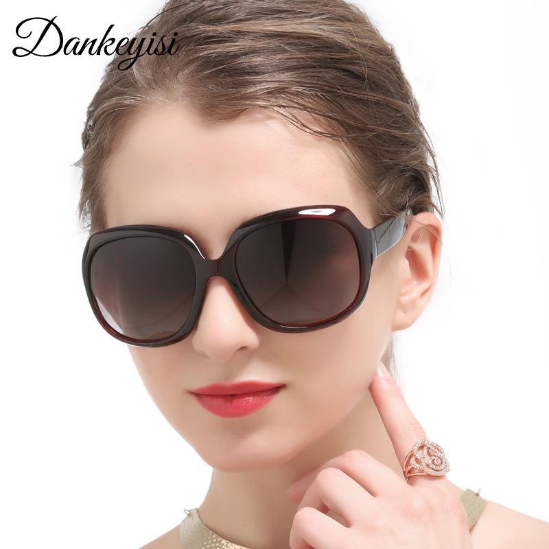 Compre DANKEYISI Gran Retro Mujeres Gafas De Sol Mujeres Polarizadas  Elegantes Señoras Gafas De Sol Gafas De Sol Femeninas HD UV400 Oculos De Sol  A  27.8 ... 9d733b9df4