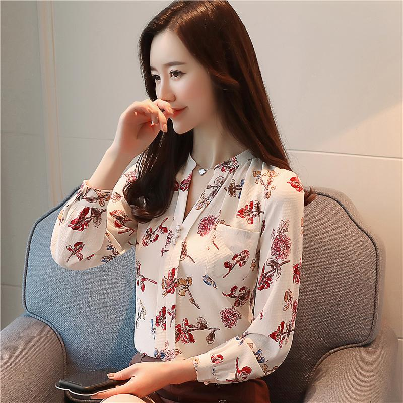 Sporting 2018 New Autumn Korean Loose Black Shirt Long Sleeve Shirt Collar Chiffon Ribbon Blouse Shirt Top Buy One Get One Free Women's Clothing