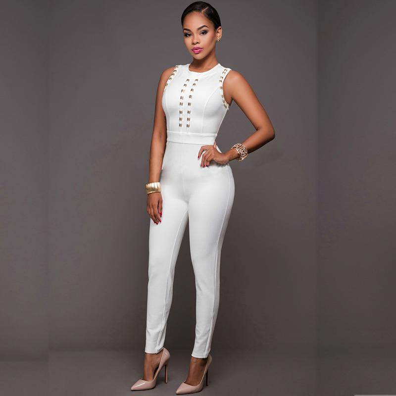 8ce0fda22a6c MUXU white jumpsuit body sexy jumpsuits for women europe and the united  states jumpsuits body suits for women bodysuits romper