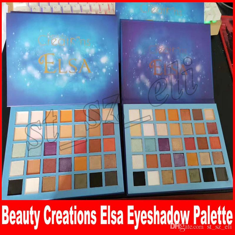 Newest Beauty Creations Elsa Eyeshadow Palette 35 Colors Sky Eye Shadow Matte Shimmer Palette makeup shadows