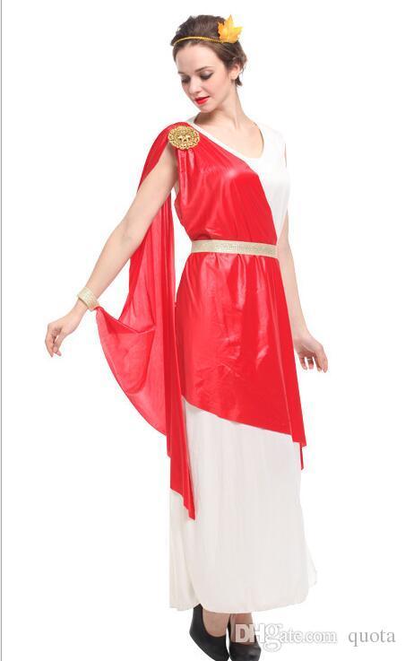 Acquista Antica Mitologia Greca Dea Costumi Sexy Donna Halloween Signora  Romana Regina Cosplay Che Mostra Il Vestito Di Carnevale Di Carnevale A   38.58 Dal ... 6630877fc0f