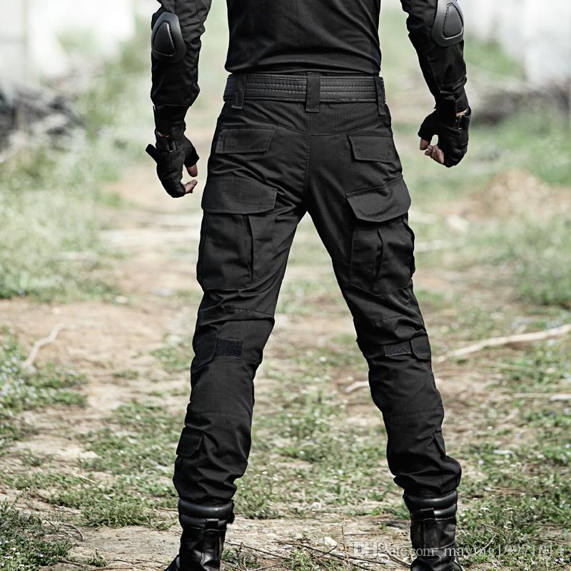 Tactical Pants Military Cargo Pants Men Camouflage Pantalon Work Trousers Knee Pads Army Hunter Special SWAT Combat Frog Pants