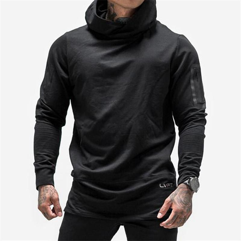 GIGENT 2018 New Gymnases Body Engineers Mode Hommes Hoodies Marque Haute Qualité Hommes Sweat À Capuche Casual Zipper Hooded Vestes
