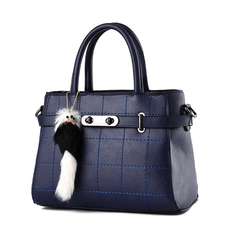 338e33e350 Women Shoulder Handbags Small Women Handbag Fashion Pu Plaid ...