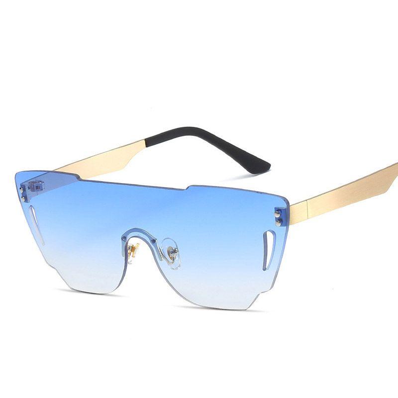 Smart 2018 New Half Frame Brand Designer Glasses Women Square Pearl Sunglasses For Female Fashion Oversized Clear Pink Eyewear Ladies Less Expensive Women's Glasses