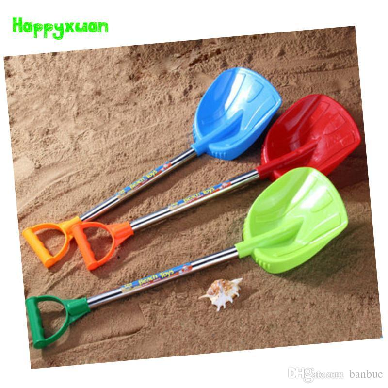 Wholesale- Happyxuan 1 piece 61cm Kids Plastic Beach Shovel Toy Sand Play Tools Children Outdoor fun