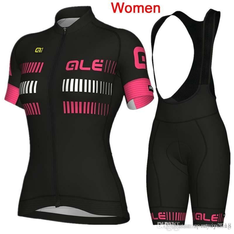 ALE Cycling Jersey 2018 New Women Summer Breathable Ropa Ciclismo Mujer Pro  Team Mountain Bike Short Sleeve Cycling Clothing Set F2603 ALE Cycling  Jersey ... a04354bc8