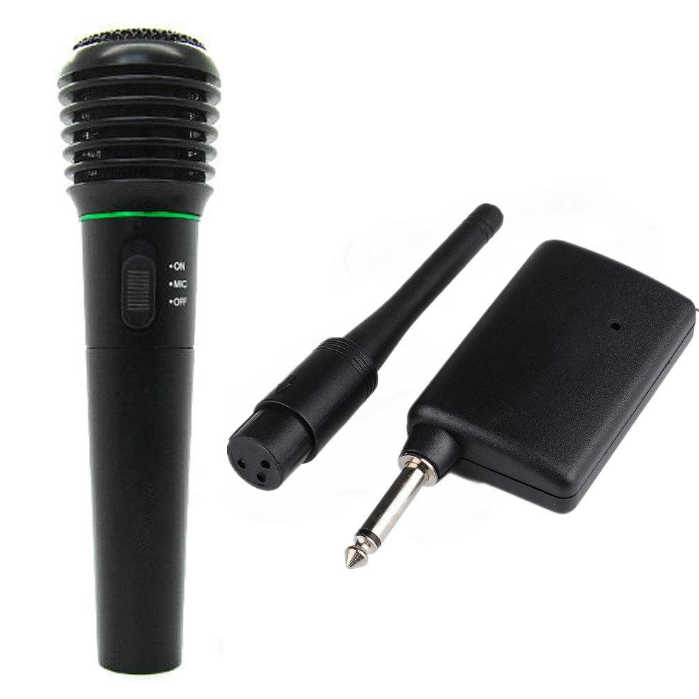 2 In 1 Wired & Wireless Handheld Microphone Wireless & Wired ...