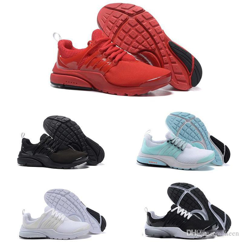26fd0072221 2018 Running Shoes Fine Mesh Breathable Presto Blackout Cheap ...