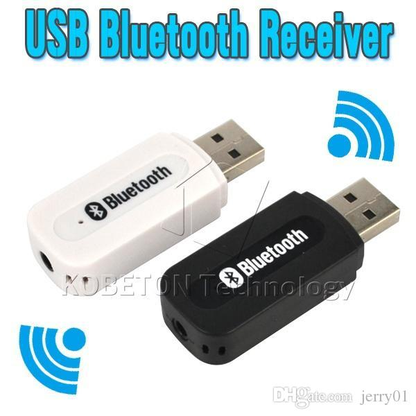 Portable USB Wireless Bluetooth Stereo Music Receiver Dongle with 3 5mm  Jack Audio Cable for Speaker for iPhone 6 for SONY LG G3