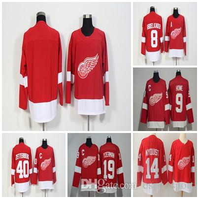 Wholesale Mens Womens Kids Detroit Red Wings 8 Justin Abdelkader 14 ... db352b6f8