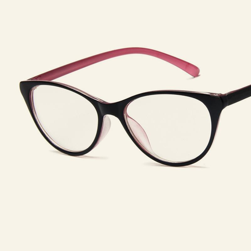 ff1d641c34e 2019 New Fashion Cat Eye Women s Glasses Frames Trendy Clear Lens Cateye  Eyewear Frame Myopia Optical Glasses Men s Cool Spectacles From Alley66