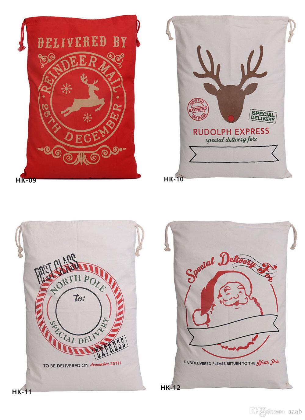 Großhandel 32 Farben Weihnachtsgeschenk Beutel Große Organische ...