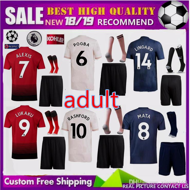 45f38c6b2 Champions League 2018 Adult LUKAKU ALEXIS POGBA Manchester United ...