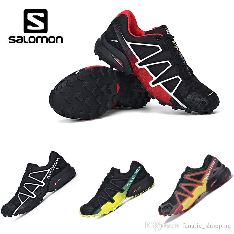 Acquista 2018 New Salomon Speed Cross 4 IV CS Scarpe Da Corsa Da Trail Uomo  Nero Rosso Speedcross Designer Casaul Sneakers A  78.16 Dal  Fanatic shopping ... ee246595d6e