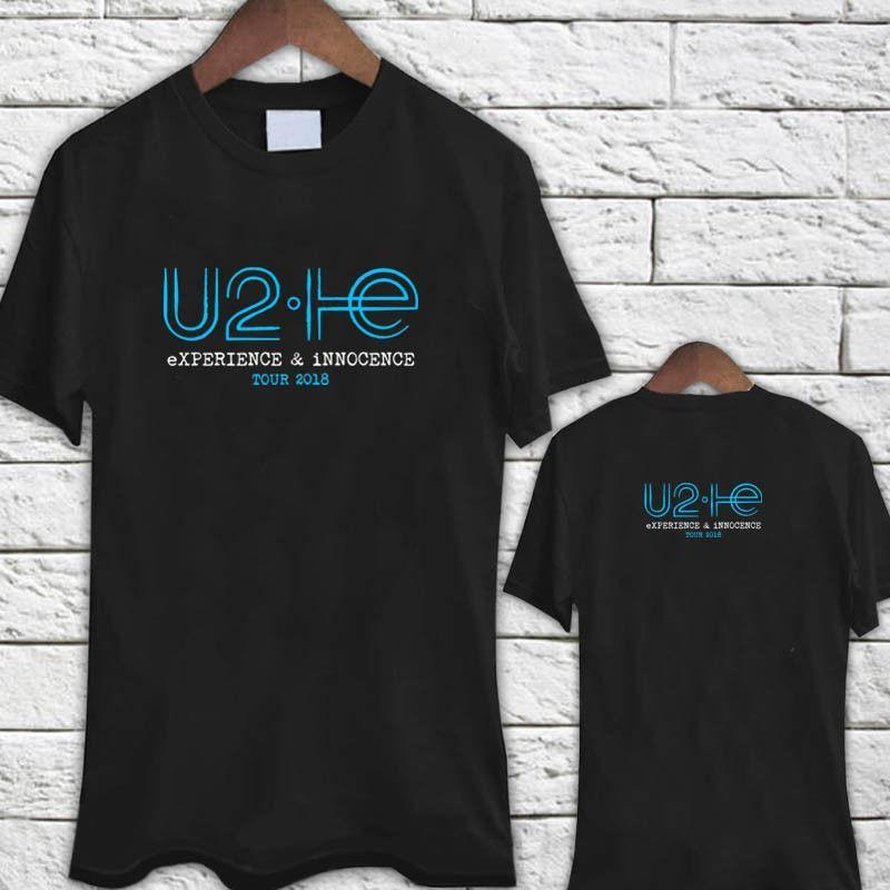 Compre Camiseta U2 Experience Inocence Tour 2018 Logo Camiseta Negra A   12.14 Del Pxue3302  98cd8bc057f6f