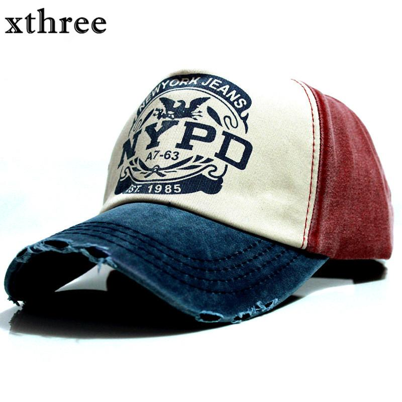 79c08e1ced3 Xthree Wholsale Brand Cap Baseball Cap Fitted Hat Casual Gorras 5 ...