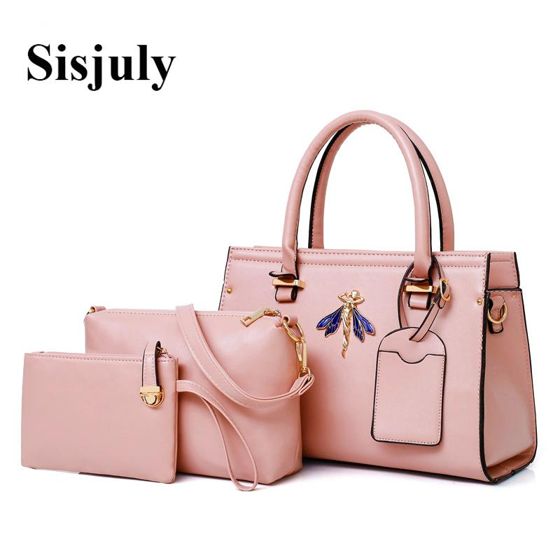 899cb18db872 Sisjuly Luxury Handbags Women Bags Designer Sets Large Capacity Female  Shoulder Bags Leather Box And Purse Sac A Main Femme Y18102504 Cheap  Handbags Cheap ...