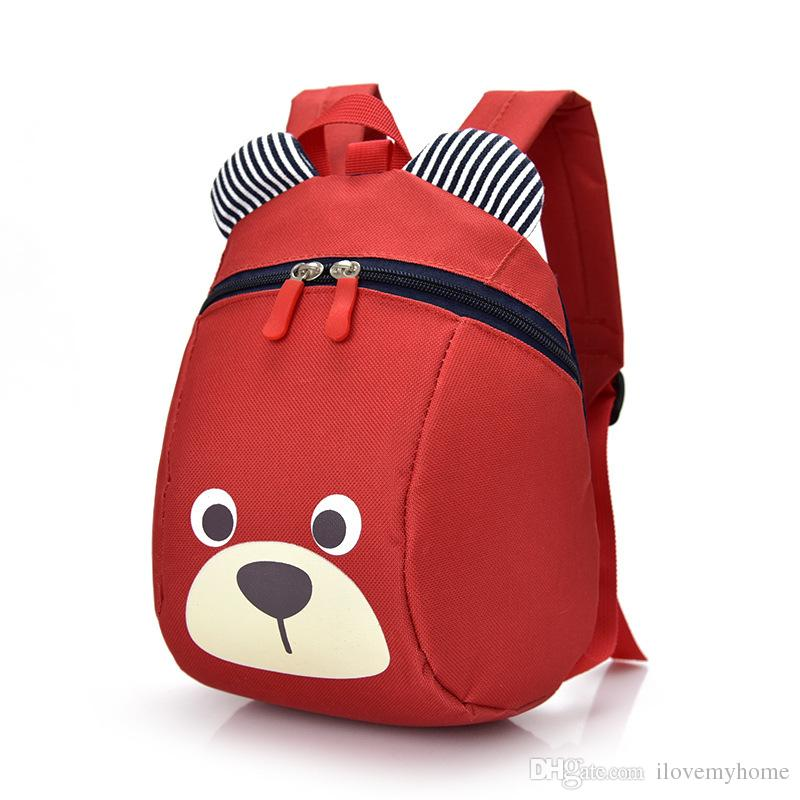 Kids Cartoon Animal Shoulder Bags Boys Girls Cute Backpacks Schoolbags  Children Baby Toddler Canvas Handbag Tote Bags For Students Backpacks  Accessories ... c17952f1e4f3e
