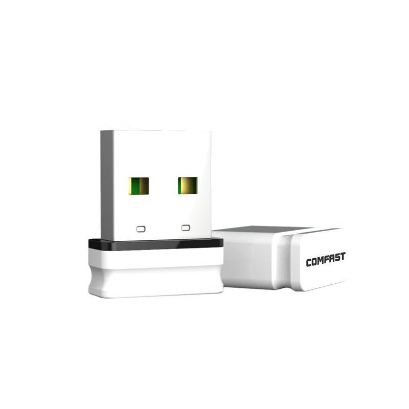 10 p barato comfast 150 m mini placa de rede sem fio usb rtl8188 wi-fi receptor transmissor de sinal de mesa wi-fi adaptador usb wu810