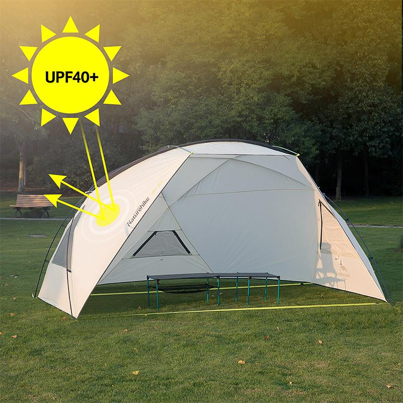 Naturehike C&ing Awning Tent Sun UV Protection Sun Shelter Canopy Outdoor Rainproof Sunshade Beach Tarp Popup Tents Luxury Tents From Annuum ... & Naturehike Camping Awning Tent Sun UV Protection Sun Shelter Canopy ...